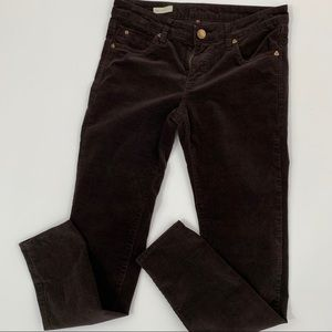 Kut from the Kloth 6 Dianna skinny brown